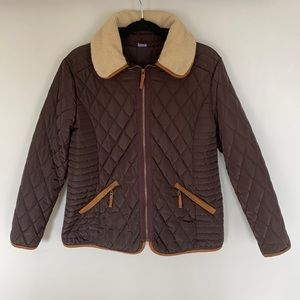 Jockey Person to Person Brown Quilted Jacket